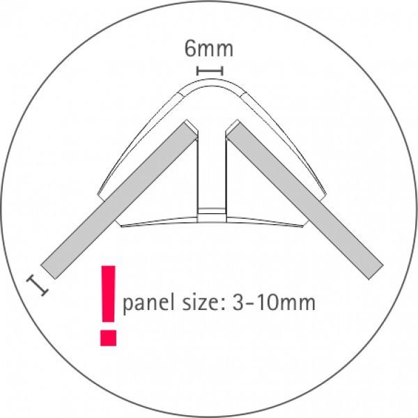 Ixbond Verbinder 90° Detail